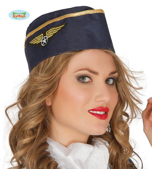 Carnaval - Dinan- Chapeaux - Calot hôtesse de l'air