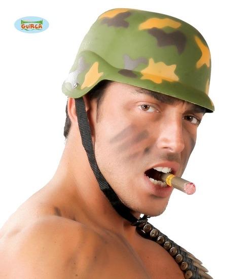 Carnaval - Dinan - Chapeaux - casque militaire