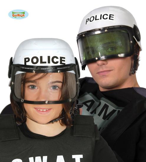 Carnaval - Dinan- Chapeaux - Casque police