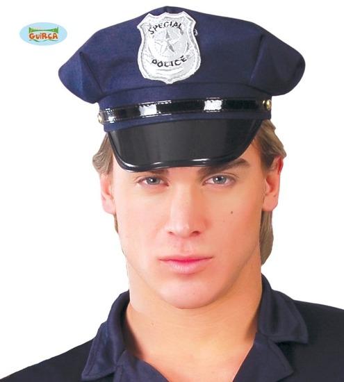 Carnaval - Dinan- Chapeaux - Casquette police