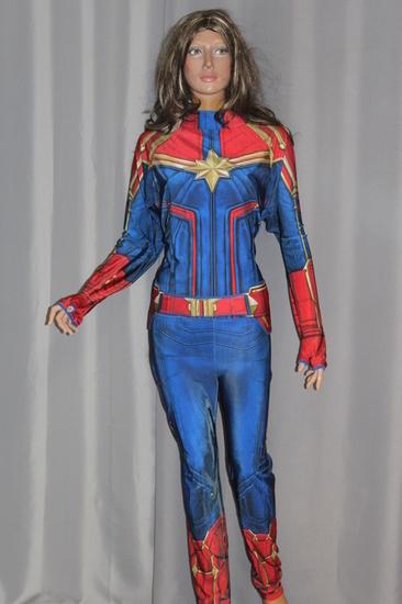 Carnaval - Dinan - Super Héros - Captain Marvel