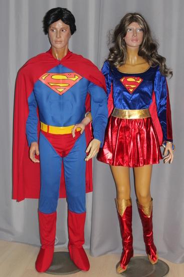 Carnaval - Dinan - Super Héros - Superman - Supergirl