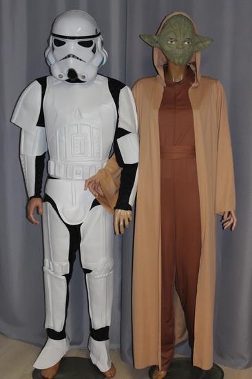 Carnaval - Dinan - Cinéma - Star Wars - Yoda - Stormtrooper