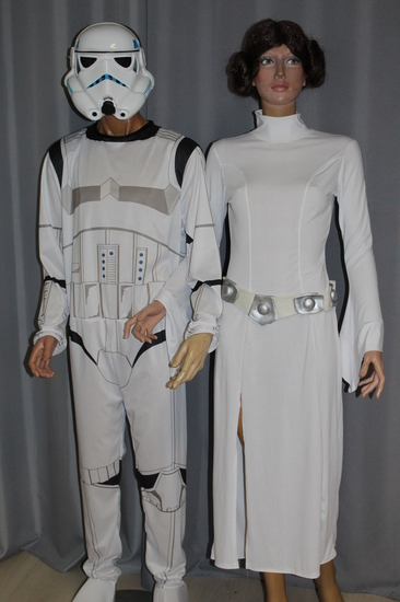 Carnaval - Dinan - Cinéma - Star Wars - Stormtrooper - Princesse Leïa