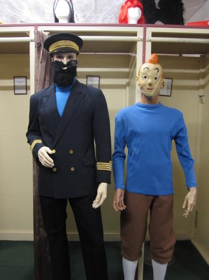 Carnaval - Dinan - Dessins Animés - Tintin - Capitaine Haddock