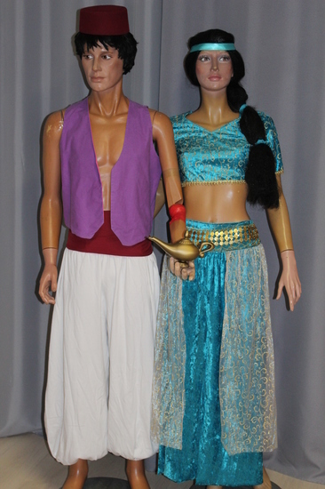 Carnaval Dinan - Disney - Aladdin et Jasmine