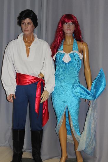 Carnaval Dinan - Disney - La petite Sirène et le Prince Eric
