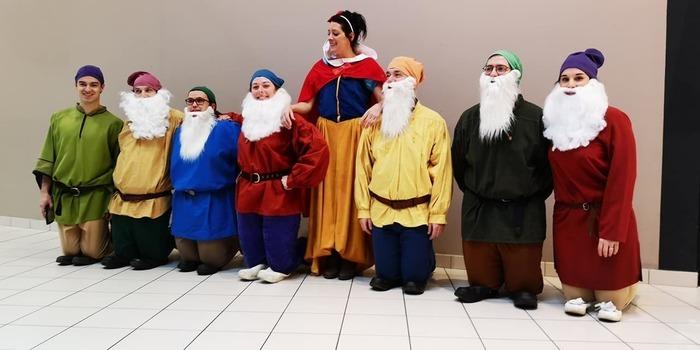 Carnaval Dinan - Disney - Blanche Neige et les 7 nains