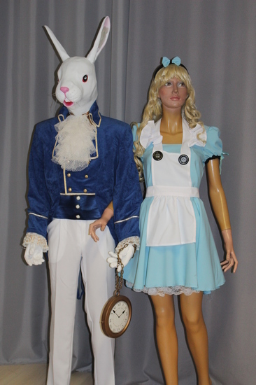 Carnaval Dinan - Disney - Alice et le lapin