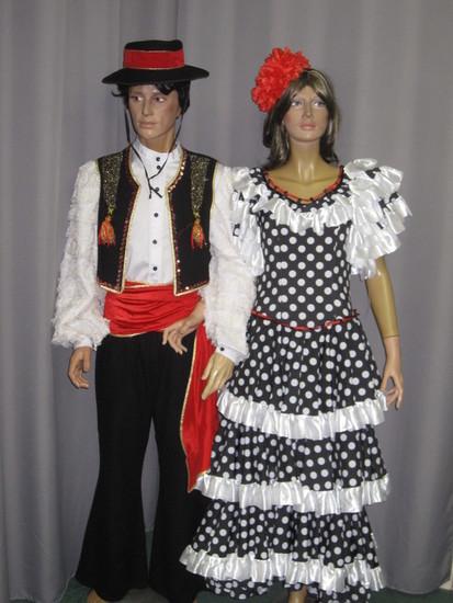 Carnaval Dinan - Costumes en location - Espagne