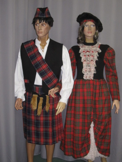 Carnaval Dinan - Costumes en location - Ecosse