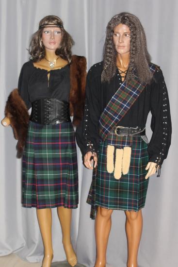 Carnaval Dinan - Costumes en location - Irlande