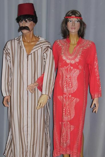 Carnaval Dinan - Costumes en location - Afrique du Nord