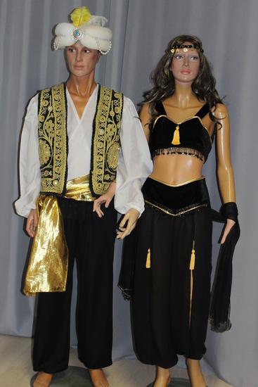 Carnaval Dinan - Costumes en location - Pays Orientaux