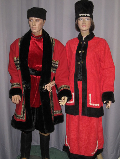 Carnaval Dinan - Costumes en location - Russie
