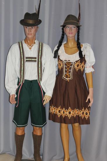 Carnaval Dinan - Costumes en location - Tyrol