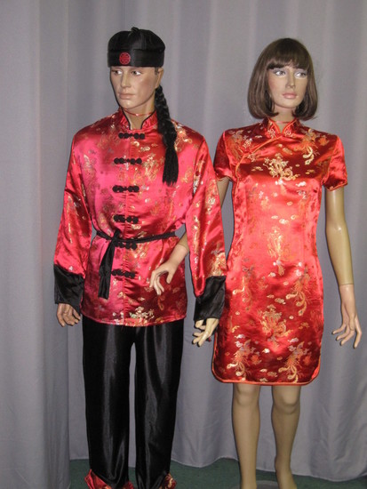 Carnaval Dinan - Costumes en location - Asie