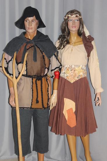 Carnaval - Dinan - Moyen Age - Paysans
