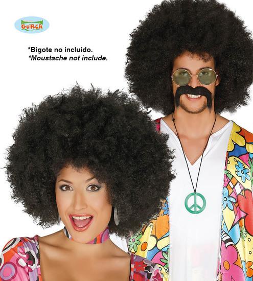 Carnaval - Dinan - Perruque - Afro