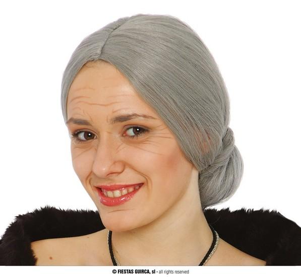 Carnaval - Dinan - Perruque grise