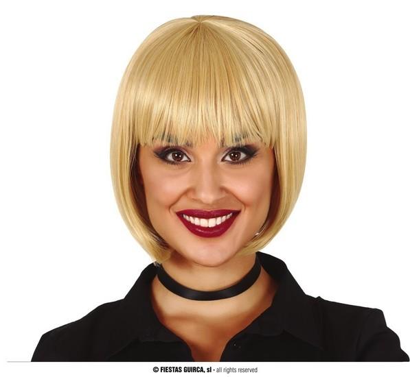 Carnaval - Dinan - Perruque carré blonde