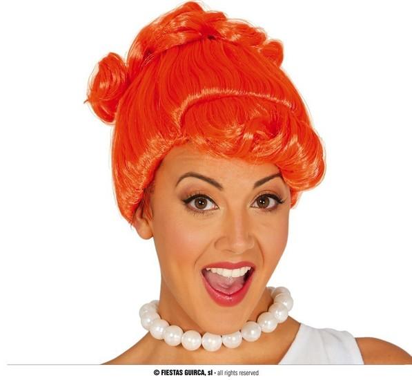 Carnaval - Dinan - Perruque orange