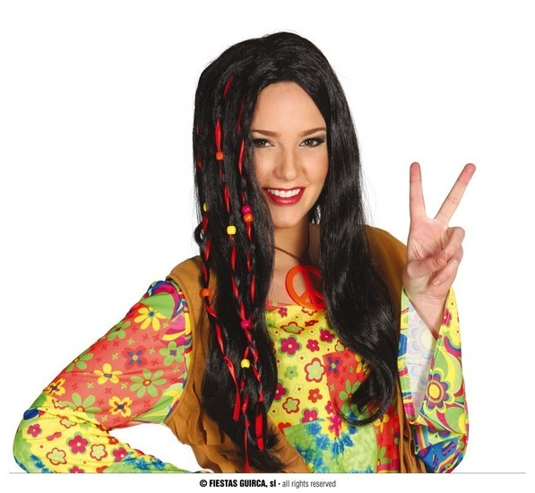 Carnaval - Dinan - Perruque hippie