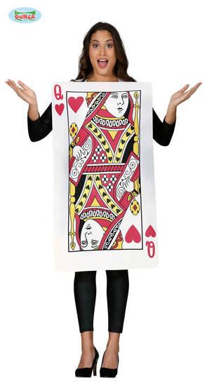 Carnaval - Dinan - Carte - Reine de Coeur