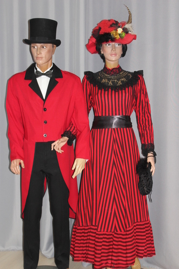 Carnaval Dinan - Costumes en location - Belle Epoque