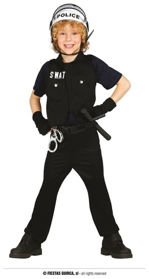 Carnaval Dinan - Policier SWAT - 24€00